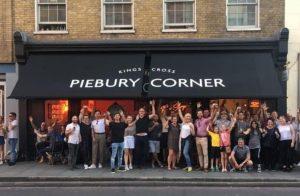 King's Cross Piebury Corner - A Pre-Match Warm Up