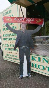 Klopp Dog at Anfield