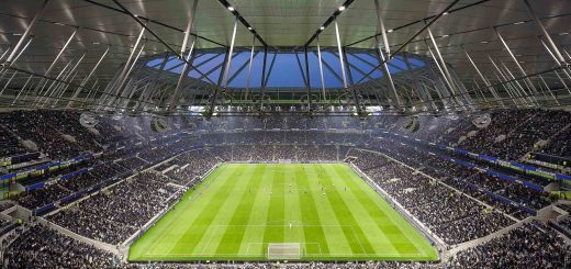 Tottenham Hotspur Stadium, London, UK