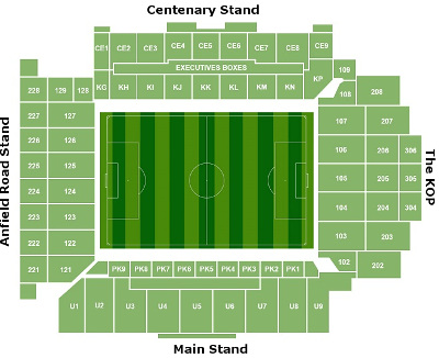Anfield Seating Chart