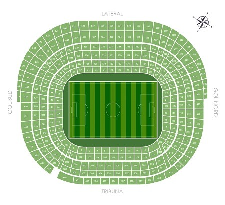 Camp Nou Seating Plan - Barcelona