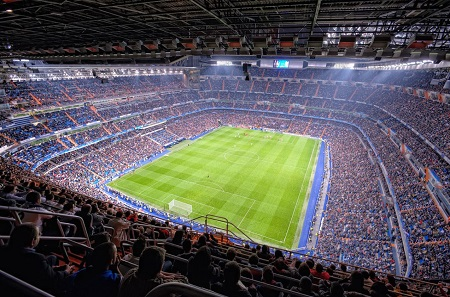 Santiago Bernabeu Stadium - Madrid