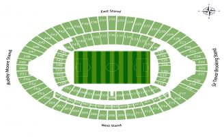 London Olympic Stadium Seating Chart