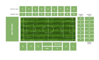 Turf Moor Seating Chart