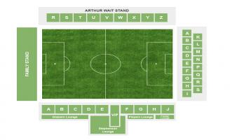 Selhurst Park Seating Chart