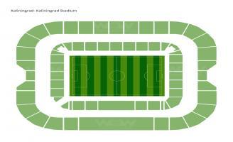 Kaliningrad Stadium Seating Chart