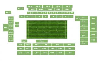 Goodison Park Seating Chart