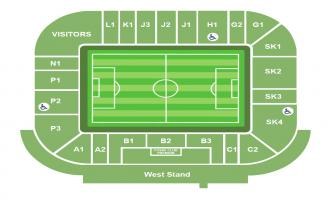 King Power Stadium Seating Chart