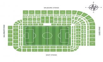 St James Park Seating Chart