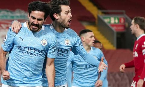 Man City EPL Winners 2020-21
